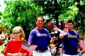 Kevin is committed to our County's Communities.  Here, Councilman Kamenetz is walking in the Arbutus July 4 Parade.