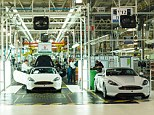 Quality build: The Aston Martin production line was quite a surprise for This is Money's motoring correspondent Lee Boyce