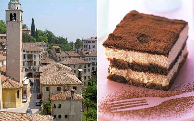 Treviso, Italy and tiramisu
