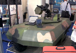 Russian 'Terminator,' Combat Robots and Special Operations Vehicle at Defense Show