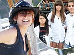 Doing better: Paris Jackson is 'happy and thriving' at new boarding school