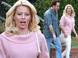 Picking up Good Vibrations! John Cusack and Elizabeth Banks have great time on set of Beach Boys biopic