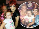 Ex pageant princess Honey Boo Boo enjoys drag night at the bingo with Mama June