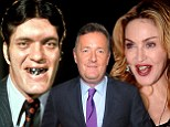 'Trying to work out which one is more terrifying... Jaws or Madonna': Piers Morgan compares pop star to Bond villain after she steps out wearing a gaudy grill