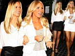 Orange County bombshells Kristin Cavallari and Gretchen Rossi leg it to Hollywood for a girls' night out