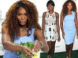 Tennis food: Venus and Serena Williams at Taste of Tennis on Thursday in New York City