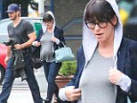 'It's not my body any more': Jennifer Love Hewitt reveals shock at pregnancy changes... then shows off her bump in New York