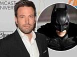 Ben Affleck announced as the new Batman in Man Of Steel sequel
