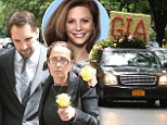 Gia Allemand's boyfriend Ryan Anderson and her mother lead mourners at tragic Bachelor star's funeral in New York