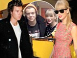 'At least she's a great songwriter!' Harry Styles hopes ex Taylor Swift will use him for inspiration... as she shows him what he's missing during outing in LA