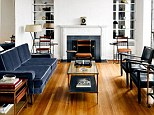 Minimalist with a retro twist: First Lady-favorite Thom Browne has opened the doors of his sharply tailored New York apartment