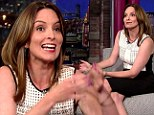 'She might be a sociopath': Tina Fey jokes about struggling to control her two-year-old daughter's behaviour at home