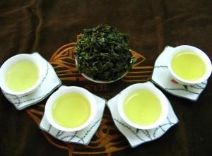 filiżanki herbaty oolong