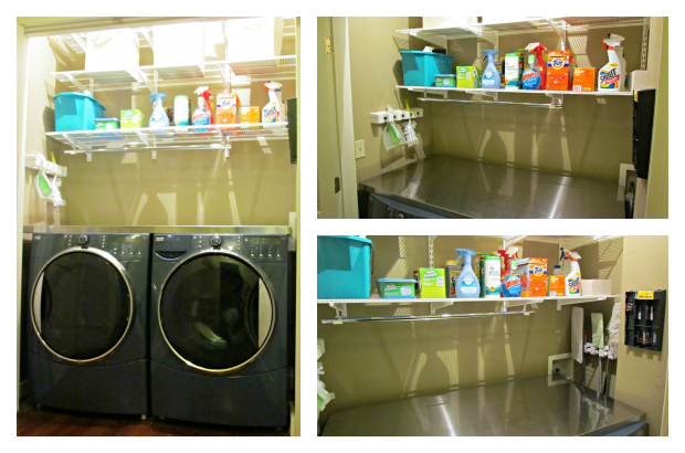 DIY Laundry Room Makeover - The Sweet Spot BlogThe Sweet Spot Blog