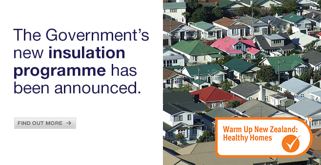 The Government's new insulation programme has been announced. Find out more.