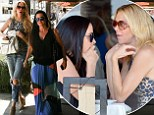 Housewives de-brief! Brandi Glanville is joined by Kyle Richards for lunch... as she posts a cheeky Twitter quip about 'casually' dating Jonathon Ruiz