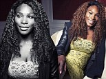 'I wasn't always confident!' Serena Williams reveals her past struggles with body image issues as she ditches the tennis attire for something more glamorous