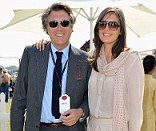 Over: Bryan Ferry has reportedly split from his wife of two years Amanda Sheppard, 37 years his junior
