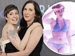 'They always made me feel pretty': Lena Dunham reveals she gets her body confidence from her parents