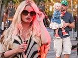 Jessica Simpson looked stunning as she left the Sagebrush Cantina in Calabasas