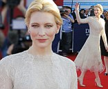 Cate Blanchett stuns in vintage lace