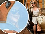 Lindsay Lohan gets behind the wheel again in New York