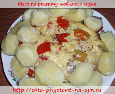 Мясо по рецепту любимого мужа часть I 1