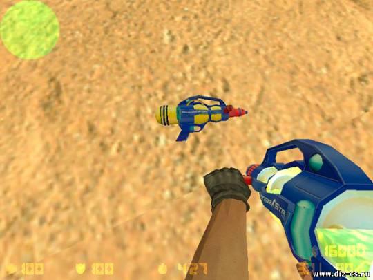 AK-47 - Водяной пистолет