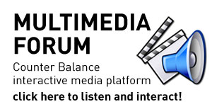 Multimedia Forum Counter Balance