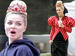 From Hollyoaks to Hollywood: Emma Rigby wows as evil Red Queen on set of ABC's Once Upon A Time in Wonderland