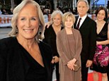 'A great party!' Glenn Close warms up Toronto in black trouser set as she joins her Big Chill cast for touching reunion at film festival