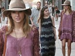 Taylor Swift and Hailee Steinfeld embrace their bohemian sides in floaty dresses while hitting L.A. stores