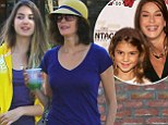 They look like sisters... but they're 33 years apart in age! Super fit Teri Hatcher, 48, shows off her stunning daughter, 15