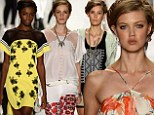 Bold prints, intricate embroidery and Frida-Kahlo braids: Latin American culture inspires Rebecca Minkoff's vibrant New York Fashion Week show