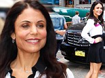 Bethenny Frankel lives up to her Skinnygirl name as she shows off her tiny waist while promoting new book on GMA