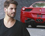 New toy! Scott Disick purchased another Ferrari from Calabasas Luxury Motorcars in California on Friday