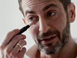 His favourite: Jacobs loves the palladium tip of his new Rescue Concealer and says he will be using it