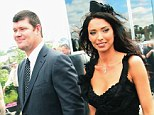 James Packer and Erica Baxter, pictured together at the Melbourne Cup Carnival in 2006, have now separated