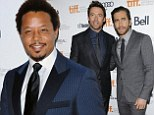Hugh Jackman and Jake Gyllenhaal dazzle at the TIFF premiere of Prisoners... while Terrence Howard brushes off latest abuse allegations to attend