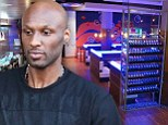 Lamar Odom 'upbeat' as he dines on miso soup... but wife Khloe remains 'in the dark' as to his whereabouts