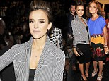 Style maven Jessica Alba leads the fashion pack at 'mentor' Diane Von Furstenberg's prestigious show as the stars flock to Fashion Week
