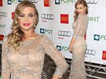Carmen Electra at the Voices on Point gala on Saturday