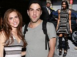 Look at me! Zachary Quinto and Allison Williams cuddle up backstage at NYFW but Ciara tries to steal the attention in bizarre Prabal Gurung boots