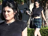 Fashionista in the making: Kylie Jenner carves out a niche for herself in her famous family as she embraces the grunge trend