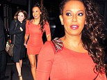Spice Girls Geri Halliwell and Melanie Brown were spotted arriving at CUT
