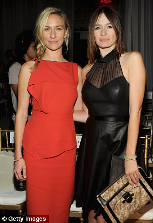 Actresses Mickey Sumner (left) and Emily Mortimer (right)
