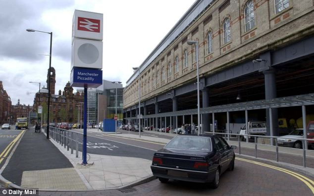 Thomas Hall prowled around Piccadilly train station, in Manchester, before attacking four women