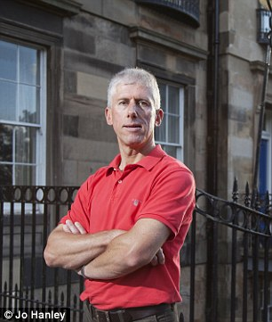 Romance: Landlord Mark Howseman offers a flat for couples in beautiful Edinburgh