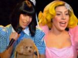Now she's in Dorothy drag! Lady Gaga performs Applause on GMA with Wizard of Oz theme