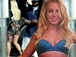 Britney Spears spotted on the set of her new Music Video